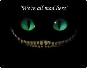 all mad here