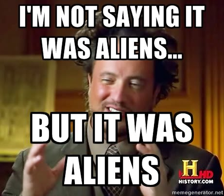 Giorgio Tsoukalos It was Aliens