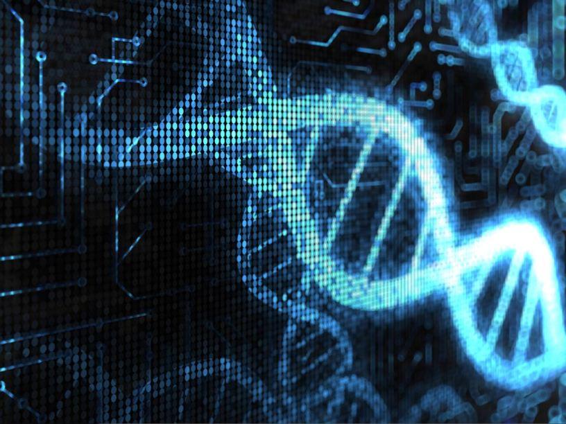 digital DNA strand