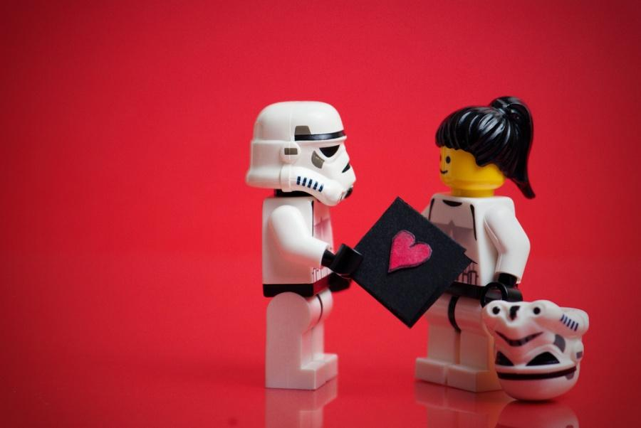 star Wars Valentine's Stormtrooper love