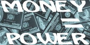 money-equals-power