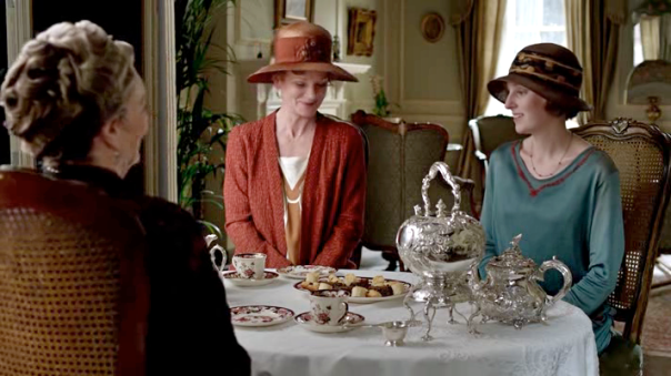 Downton Abbey teatime