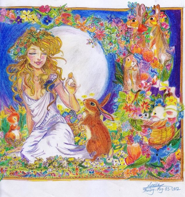 Eostre and the Easter Bunny
