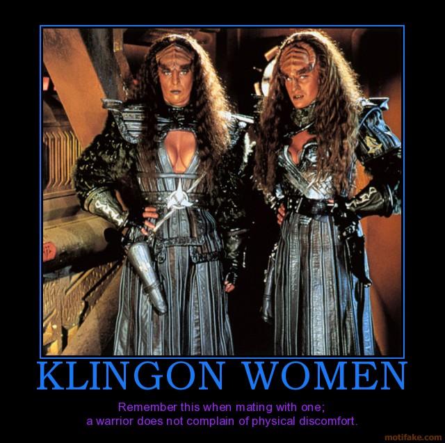 klingon-women