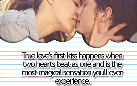 Love frst kiss