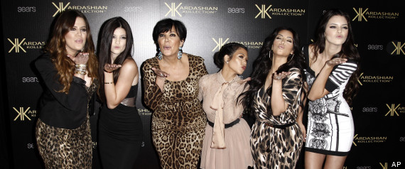 FILE - In this Aug. 17, 2011 file photo, from left, Khloe Kardashian, Kylie Jenner, Kris Jenner, Kourtney Kardashian, Kim Kardashian, and Kendall Jenner arrive at the Kardashian Kollection launch party in Los Angeles. The E! Entertainment network said Tuesday it had reached a deal with its most bankable franchise to make three more seasons of