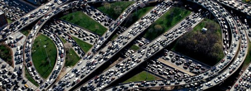 Highway-Rush-Hour-Traffic-Jam
