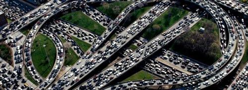 Highway-Rush-Hour-Traffic-Jam