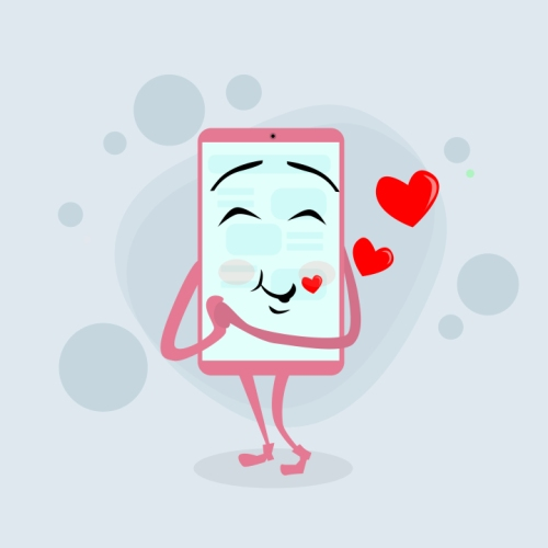 kozzi-20613413-Smart_Cell_Phone_Pink_Cartoon_Character_Love_Red_Heart_Shape-720x721.jpg