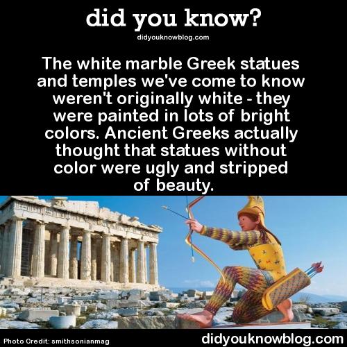 greekstatuespainted